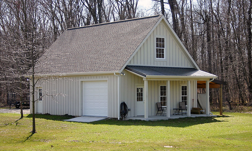 Garage and barn build services deck masters of columbus for Best builders workshop deck