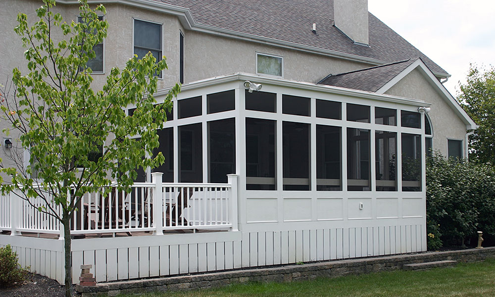 Screened Porch Build Services Deck Masters Of Columbus
