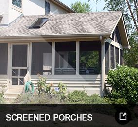 Screened Porch Build Services - Columbus, Ohio